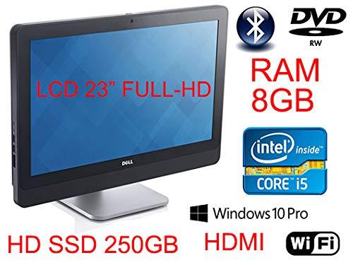 ALL IN ONE DELL 9030 INTEL QUOD CORE I5 CON 8 GB DI RAM E HARD DISK SSD DA 250 GB (Ricondizionato)
