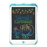 ZHANYIS Zeichenbrett Desktop, 11-Zoll-LCD-Farbbildschirm Schreibtafel mit hohen Helligkeit Handschrift Zeichnung Sketching Graffiti Gekritzel Doodle-Brett for Home Office, Schreiben, Zeichnen (Pink) -