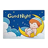 Jigsaw Puzzle 500 Pieces for Adults Cute Baby Sleeping on The Moon with Good Night Teens and Kids Creative Gift Puzzles Funny Family Games Multiple Size