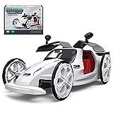 Kseroo Solar Powered Robots Cars, PlanetsforKidsSolarSystemToys, DIY eco-Engineering STEM Educational Building Toys Gift for Kids Ages 6+