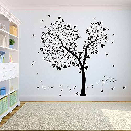 hetingyue Vogel, de weg van de hoofdboomsticker, kamerdecoratieboom van de levenwortel-yoga-studiodecoratie vliegt.