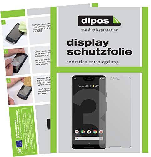 dipos I 6X Schutzfolie matt kompatibel mit HTC Exodus 1 Folie Bildschirmschutzfolie (bewusst Kleiner als das Glas, da Dieses gewölbt ist)