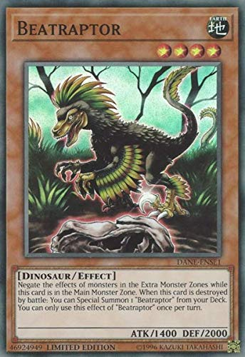 Yu-Gi-Oh! - Beatraptor - DANE-ENSE1 - Super Rare - Limited Edition - Dark Neostorm: Special Edition