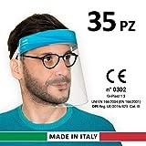 Gi-Plast Visiera Protettiva Paraschizzi Made In Italy Dispositivo di Protezione Individual...