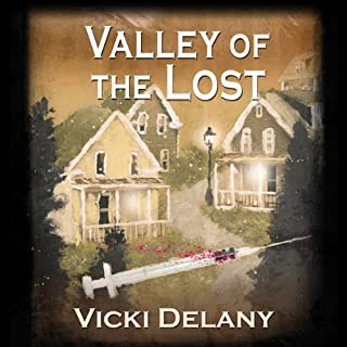 Valley of the Lost                   Written by:                                                                                                                                 Vicki Delany                               Narrated by:                                                                                                                                 Carrington MacDuffie                      Length: 9 hrs and 34 mins     1 rating     Overall 5.0