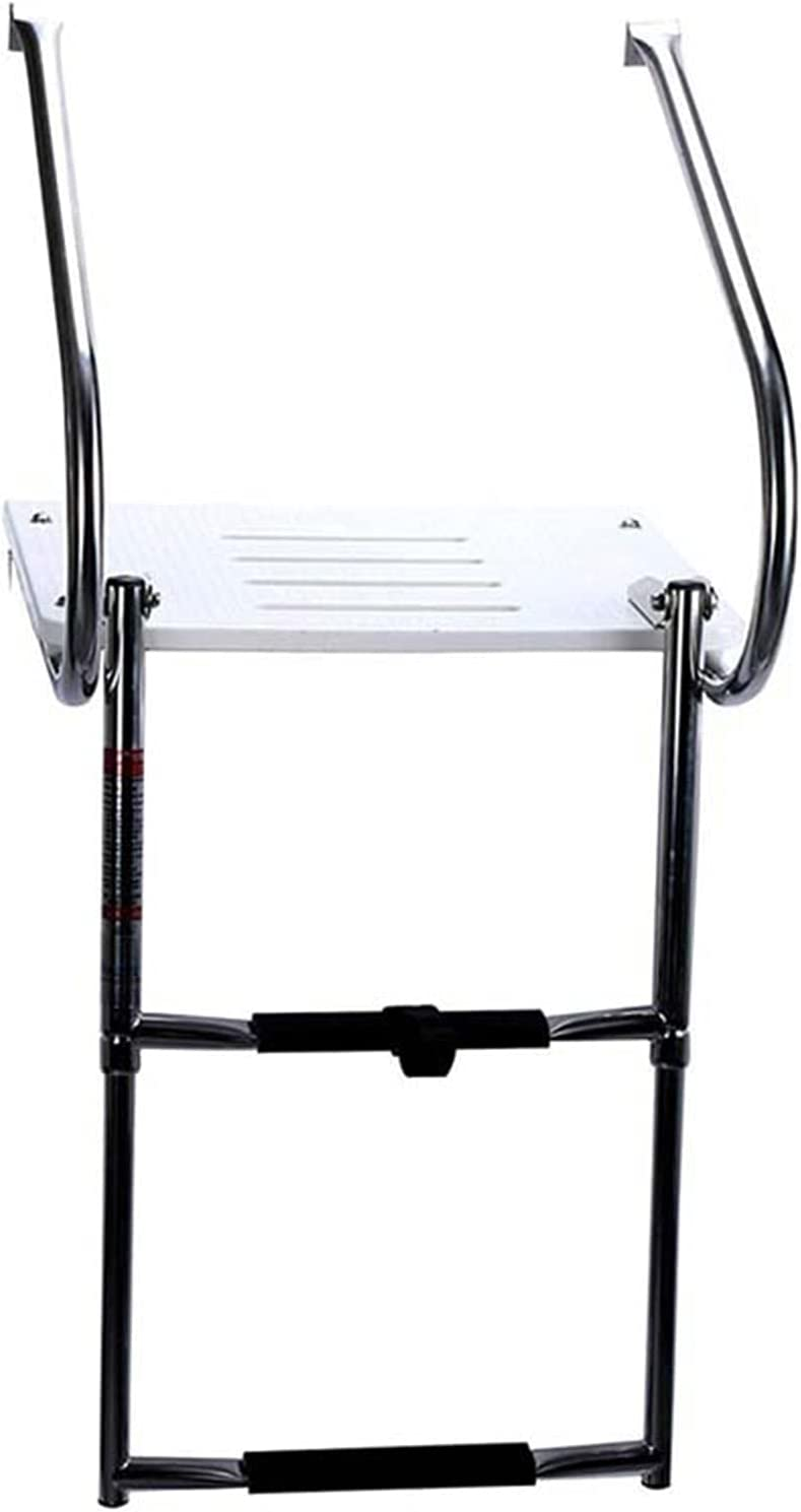 XMEIFEI Al sold out. Max 46% OFF PARTS Marine 2 Steps S.S Boat Boarding Ladder wit