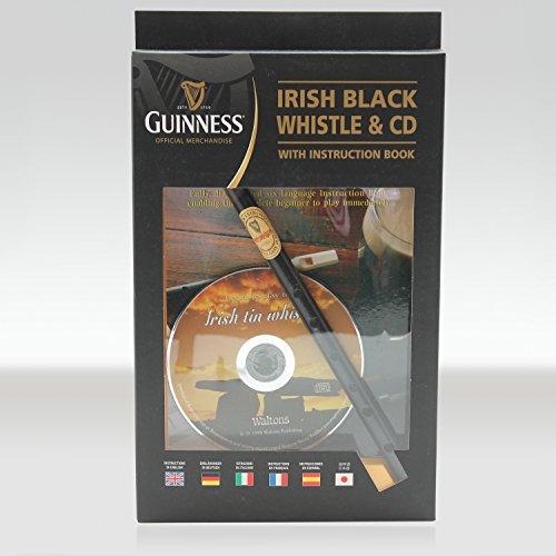 Guinness Irish Tin Whistle con istruzioni in inglese e CD