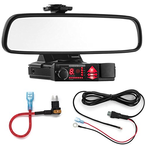 Sale!! Radar Mount Mirror Mount Bracket + Direct Wire Power Cord + Micro2 Fuse Tap for Valentine V1 ...