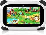 HANYEAL Tableta para niños con WiFi Bluetooth 7 Pulgadas 1024x600 Tableta para niños Android 9.0 Quad Core 2GB 32GB Funda para Tableta a Prueba de niños con cámara Dual Educativo Niños (Schwarz)
