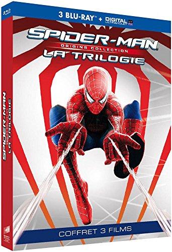 Spider-Man Origins Trilogie 3 Films [Blu-Ray] [Collection Origines - Blu-ray + Copie digitale]