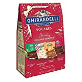 Ghirardelli Chocolate Squares Holiday Assortment, Individually Wrapped Candy, 14.8 Ounces