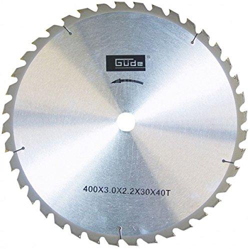 Güde Carbide Sägeblatt 400X 30X 2, 2mm mit 40Zähne