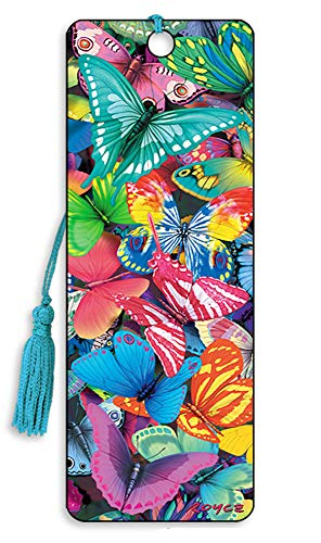 3D Bookmarks by Artgame - TOP Selling Designs… (Butterfly Magic)