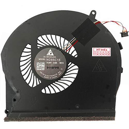 (GPU Version) Lüfter Kühler Fan Cooler kompatibel für HP Pavilion Gaming 17-cd0222ng, 17-cd0913ng, Pavilion Gaming 17-cd0225ng, 17-cd0919ng
