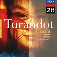 Turandot by BORKH / TEBALDI / ST CECILIA ACADEMY ORCH / EREDE (2008-09-02)