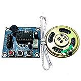 ARCELI ISD1820 Sound Voice Recording Module de Lecture Mic Audio + Haut-Parleur
