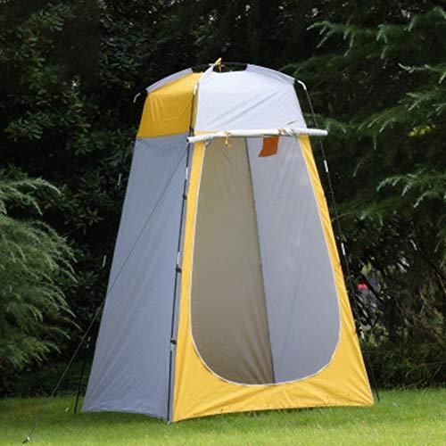 CDZNIU Outdoor Duschzelt, Instant Automatic Pop Up Zelt, wasserdicht und atmungsaktiv Camping WC Duschbeutel Zelt, Outdoor Stranddusche Ankleideraum Zelt 120x120x180CM