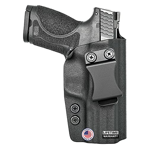 Concealment Express IWB KYDEX Holster fits S&W Shield 9/40 (Incl. M2.0) | Right | Black
