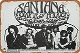 Generic Brands Santana Band07 Vintage-Blechschild, Kunst,