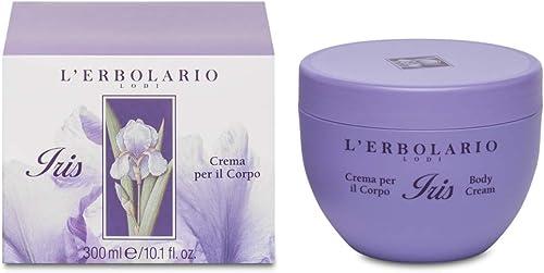 L'Erbolario, Crema Corpo Iris, Trattamento Idratante, Trattamento Vellutante e Ammorbidente, 300 ml