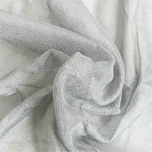 CCHM Strahlung Stoff Abschirmung Anti Strahlenschutz Stoff verwendet für Bett-Überdachung,Grau,1 * 1.5m