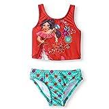 Disney Elena of Avalor Traje de baño Tankini para niñas - rojo - 4 años