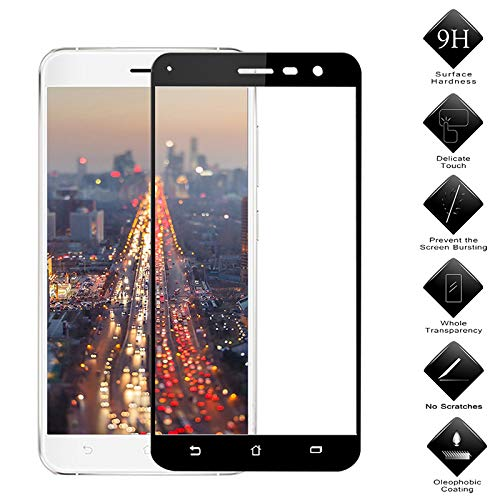 Screen Protector for Asus Zenfone 3 Max Pegasus 3 Horse 3 ZC520TL X008D 5.2 inch Ultra-Thin 9H Hardness Anti Scratch Tempered Glass Film by TAOYUNXI (White, Asus Zenfone3 Max ZC520TL 5.2inch)