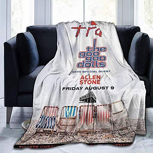 Kimi-Shop Puppen Ultra-Soft Micro Fleece Decke werfen Super Soft hypoallergen Plüsch Bett Couch Wohnzimmer 60 'x 50'