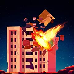Beautiful and 3D Graphics Enjoy the destruction of building Aim and Shoot Castle Simple and easy control