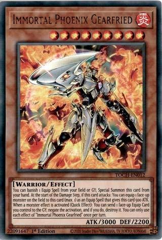 Immortal Phoenix Gearfried - TOCH-EN012 - Ultra Rare - 1st Edition