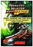 Monster Hunter Freedom Unite Game, Android, IOS, PSP, Rom, Monster List, Cheats, Weapons