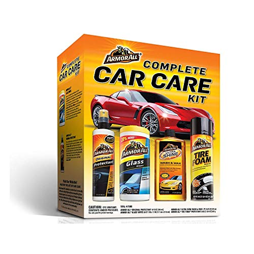 Armor All Complete Car Care Kit (1 Count) (4 Items Included) - 4 Pack