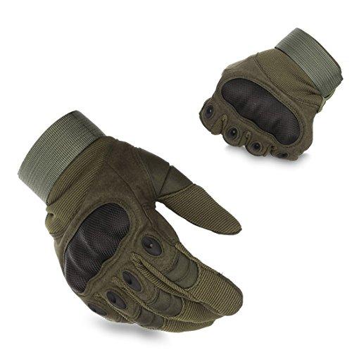 BeiLan バイクグローブ メンズ 手袋 タクティカル グローブ ミリタリーグローブ サバゲー トレーニング 登山用 サイズ:M