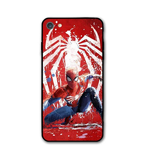iPhone 7 Case iPhone 8 iPhone SE 2nd 2020 Case 4.7', Comics iPhone Case Plastic Full Body Protection Cover for iPhone 7/8, iPhone SE 2nd 2020 (Spider-Man)