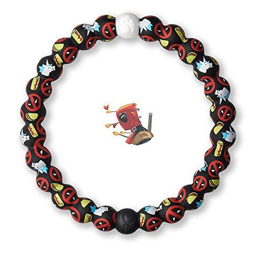 Lokai The Marvel Collection Bracelet, Deadpool, 5.5' - X-Small