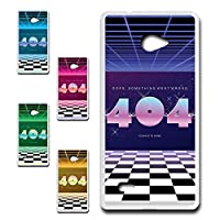VAIO Phone Biz (VPB0511S) 専用 スマホケース ハードケース カバー 80's ヴェイパーウェイヴ 404 【デザインA】 TK-638A バイオ フォン ビズ SONY ソニー