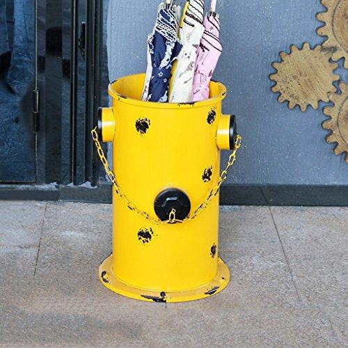 Porte-parapluies Parapluie Stand Parapluie Simple créatif Stand Européen Fer Parapluie Stand ménage Parapluie Stockage Baril