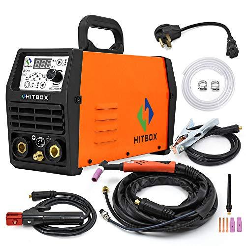 HITBOX TIG Welder Pulse 200A 110/220V Dual Volt...
