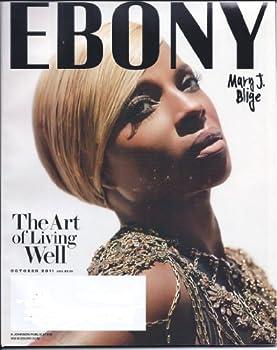 Ebony Magazine October 2011 Single Issue Mary J Blige