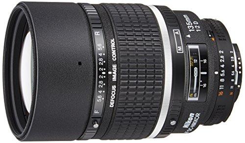Nikon 135 mm/F 2,0 D Objektiv (Nikon F-Anschluss,True)