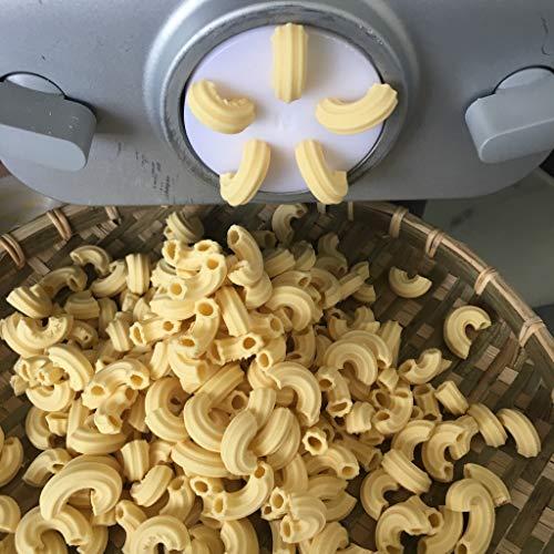 Gomiti Rigate 8mm compatibile Philips Pasta Maker Advance