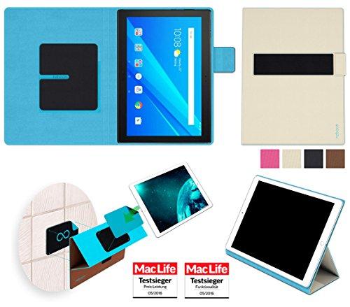 Hülle für Lenovo Tab 4 10 Plus Tasche Cover Case Bumper | Testsieger | Beige