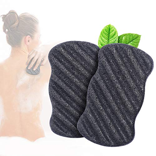Miss Gorgeous Konjac Sponge Set with Activated Bamboo...