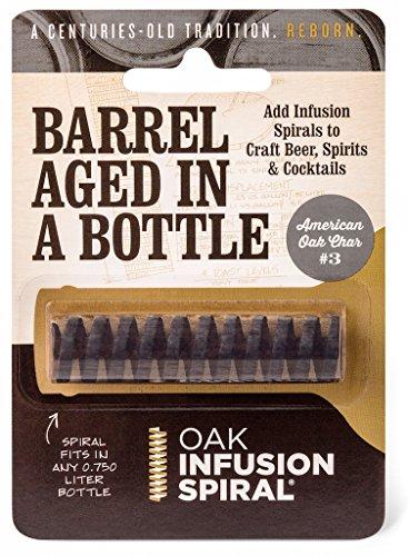 Oak Infusion Spiral Barrel Aged in a Bottle Oak Infusion Spiral, Brown
