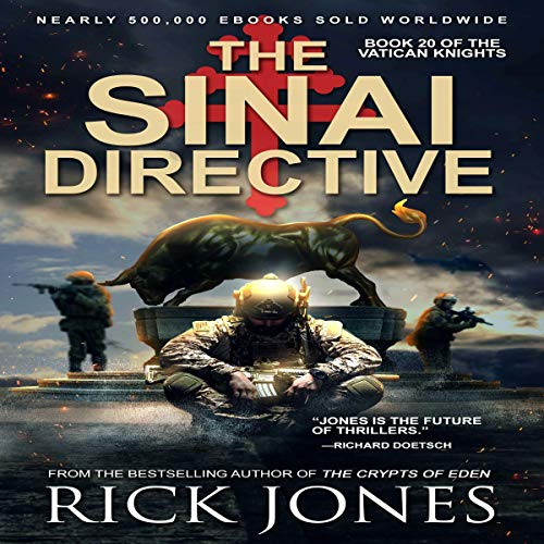 The Sinai Directive Audiobook By Rick Jones cover art