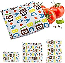 3PCS Reusable Snack Bags Sandwich Bread Waterproof Bag Food Storage Bags Heating Pastry Tools For Camping Travel Hiking Lu...