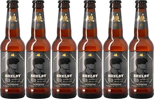 Pack de 6 Thornbridge Shelby IPA - Bière officielle de la série anglaise Peaky Blinders