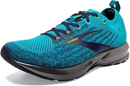 Brooks Mens Levitate 3 Running Shoe, Blue/Navy/Nightlife, 46 EU