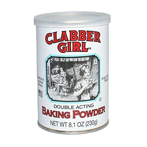 Clabber Girl Baking Powder, 8.1 Ounce