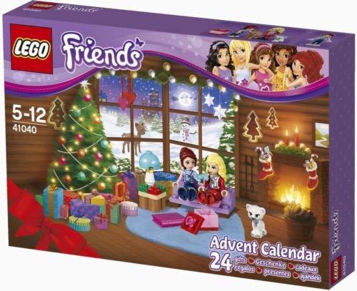 LEGO Friends 41040 Minifigure - Calendario de Adviento para niñas, regalo de Navidad